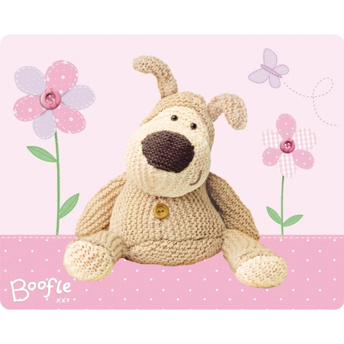 Boofle 'Spring' Panel Fleece Blanket Throw