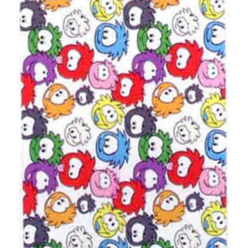 Club Penguin Artic Rotary Fleece Blanket Throw