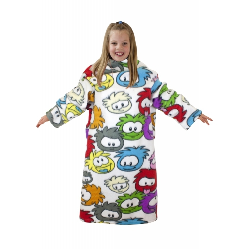 Club Penguin 'Artic' Cosy Wrap Blanket Sleeved Fleece