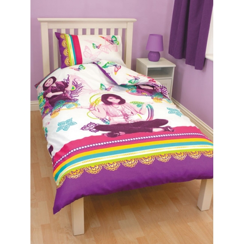 Disney Wizards of Waverly Place Magic Rotary Single Bed Duvet Quilt Cover Set