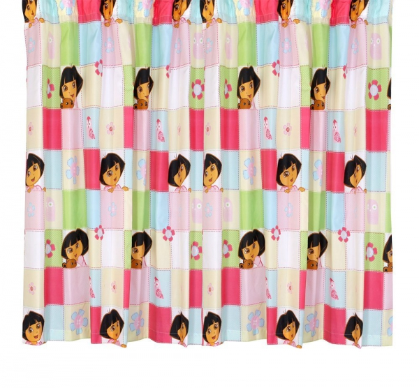 Dora 'Buttons' 66 X 72 inch Drop Curtain Pair