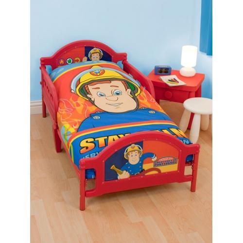 Fireman Sam 'Flames (hero)' Junior Bed Frame