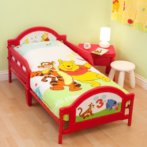 Disney Winnie The Pooh 'Numbers' Junior Bed Frame