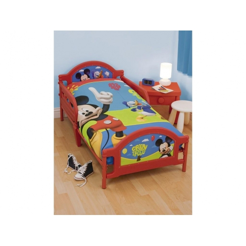 Disney Mickey Mouse 'Puzzled' Junior Bed Frame