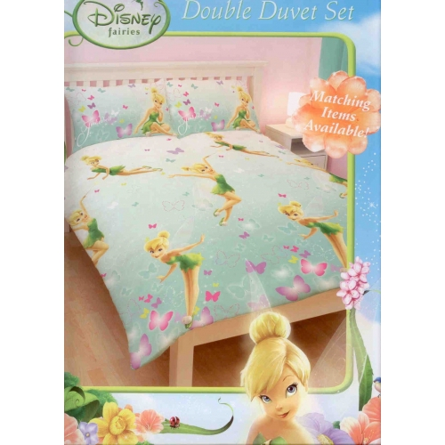 Disney Fairies Imagine Rotary Double Bed Duvet Quilt Cover Set