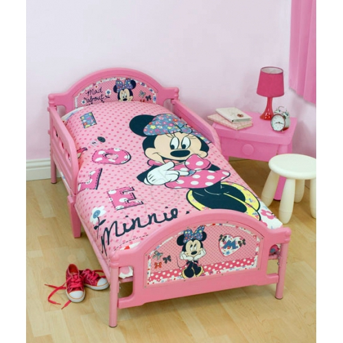 Disney Minnie Mouse 'Shopaholic' Junior Bed Frame