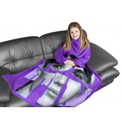 Justin Bieber 'Autograph' Cosy Wrap Blanket Sleeved Fleece