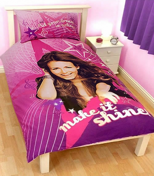 Victorious 'Rock' Panel Single Bed Duvet Quilt Cover Set