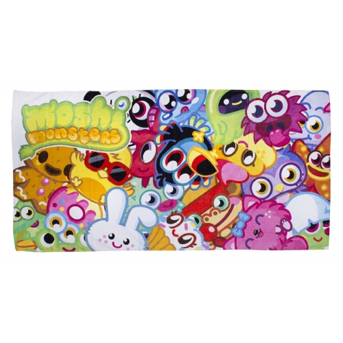Moshi Monsters 'Moshlings' Printed Beach Towel