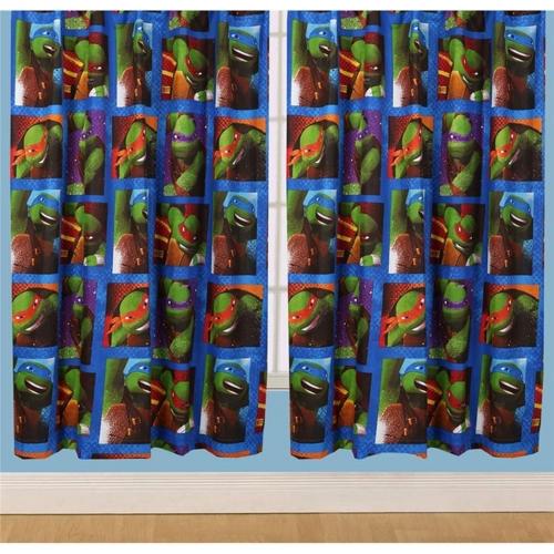 Teenage Mutant Ninja Turtles 'Dudes' 66 X 72 inch Drop Curtain Pair