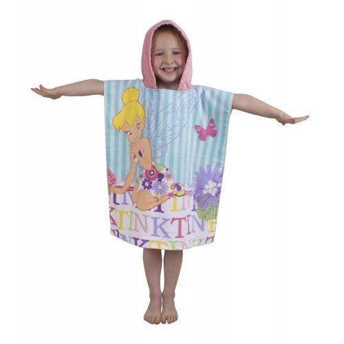 Disney Fairies 'Cherish' Poncho Towel