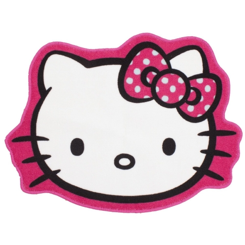 Hello Kitty 'Ink' Shaped Rug