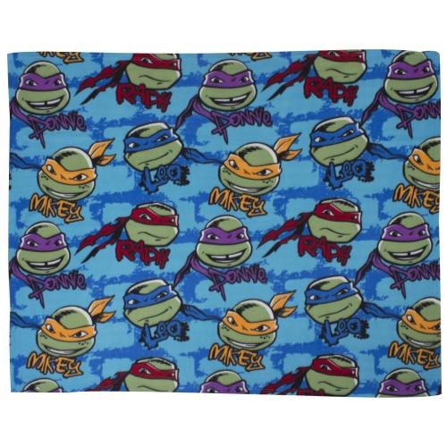 Teenage Mutant Ninja Turtles 'Urban' Rotary Fleece Blanket Throw