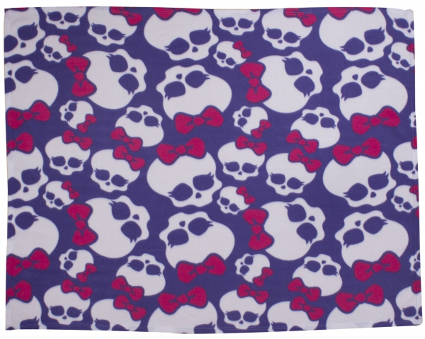 Monster High Beasties Rotary Fleece Blanket Throw