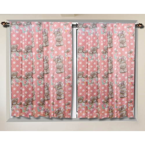 Me To You Tatty Teddy 'Bonbon' 66 X 54 inch Drop Curtain Pair