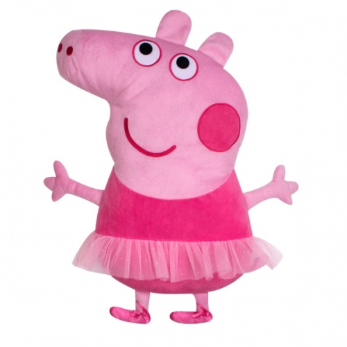 Peppa Pig Ballerina Shaped Cushion