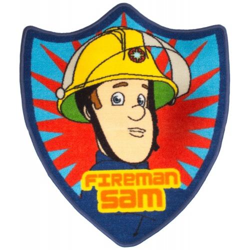 Fireman Sam 'Brave' Shaped Rug