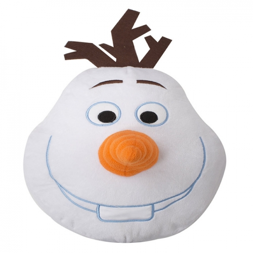 Disney Frozen Olaf Shaped Cushion