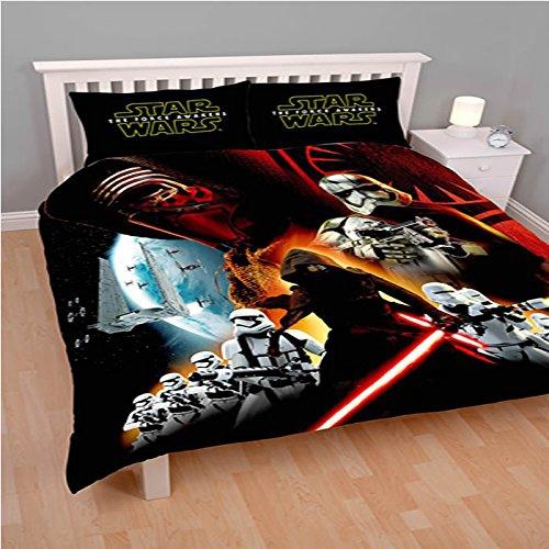Disney Star Wars 'Force Awakens' Panel Double Bed Duvet Quilt Cover Set