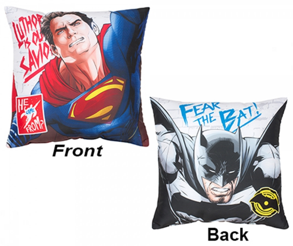 Batman vs Superman 'Clash' Printed Cushion
