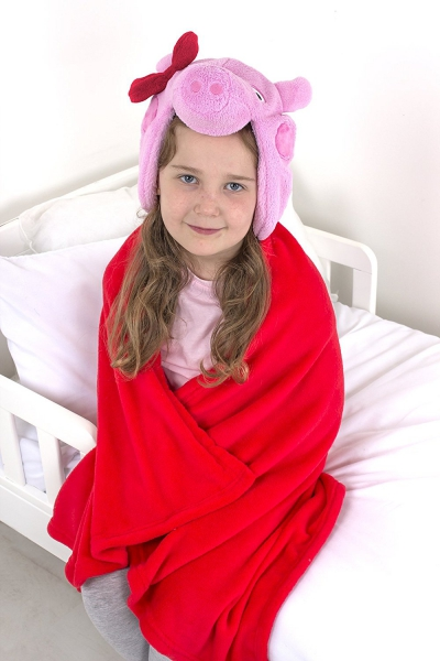 Peppa Pig 'Bow' One Size Cuddle Robe