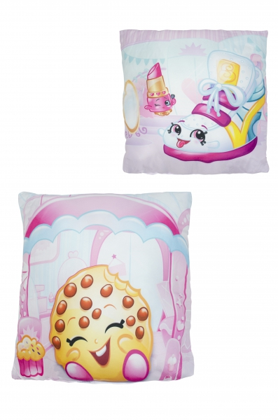 Shopkins 'Shopaholic' Printed Cushion