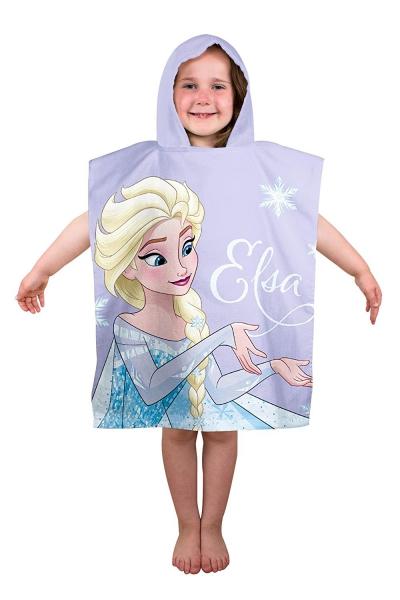 Disney Frozen 'Lights' Elsa & Anna Poncho Towel