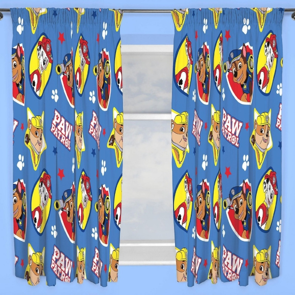 Paw Patrol 'Pawsome' 66 X 72 inch Drop Curtain Pair