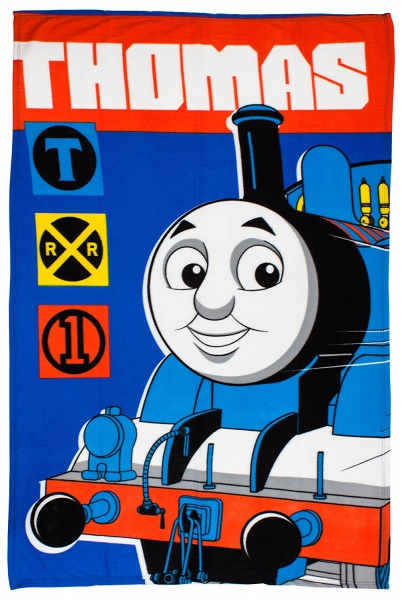 Thomas 'Team' Panel Fleece Blanket Throw