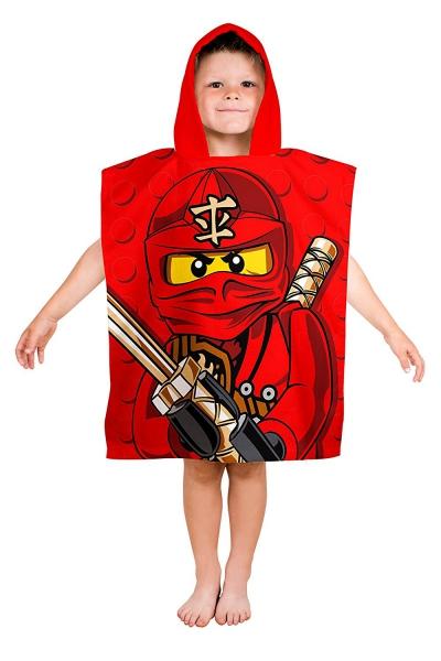 Lego Ninjago 'Warrior' Poncho Towel