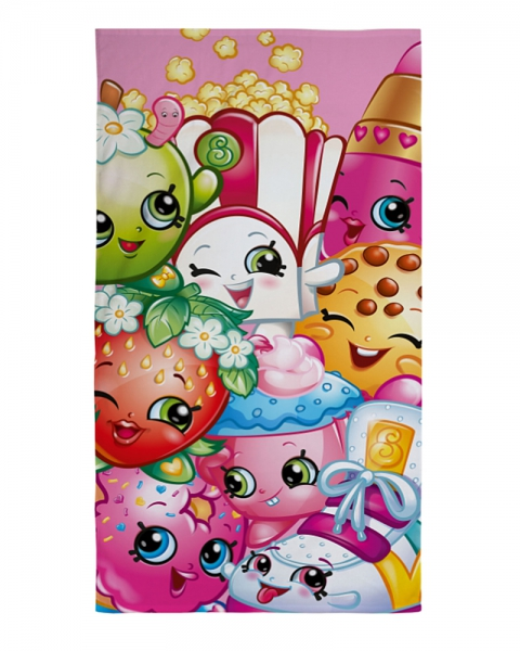 Shopkins 'Trolly' Printed Beach Towel