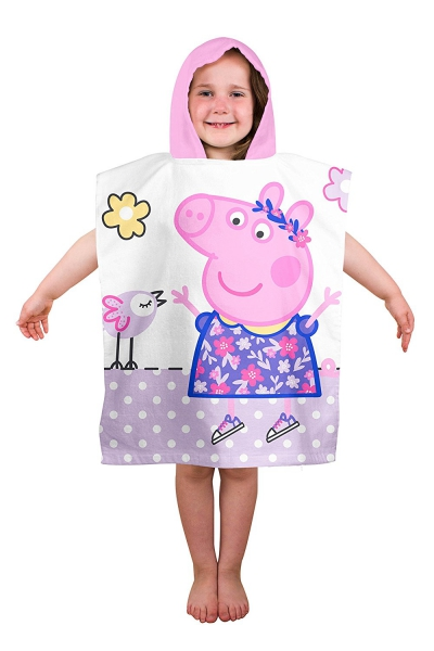 Peppa Pig 'Happy' Poncho Towel
