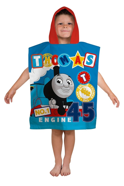 Thomas 'Patch' Kids Poncho Towel