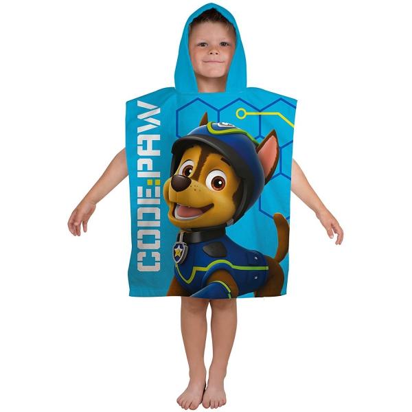 Paw Patrol 'Spy' Poncho Towel