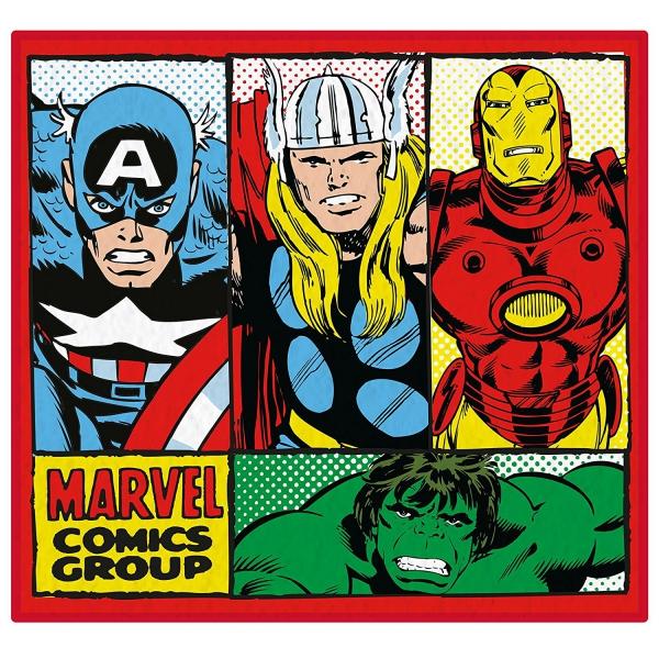 Marvel Comics 'Retro' Shaped Rug