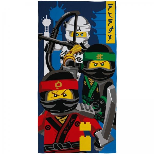 Lego Ninjago 'Movie' Velour Printed Beach Towel