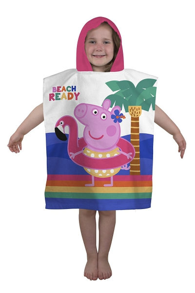 Peppa Pig Hooray Poncho Towel