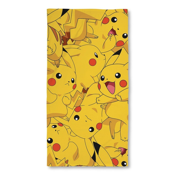 Pokemon Boom Pikachu Beach Towel