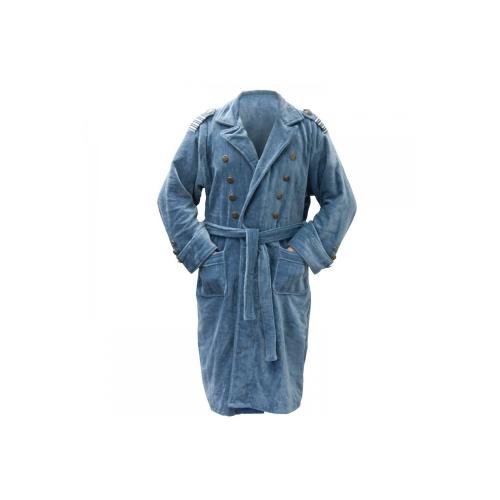 Doctor Who 'Torchwood Captain Jack Blue' One Size Bathrobe