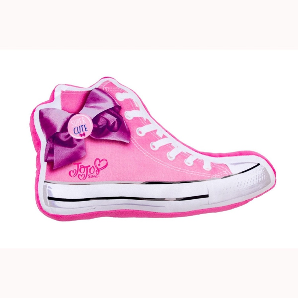 Jojo Siwa Bows Sneaker Shaped Cushion