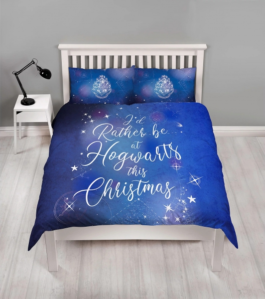 Harry Potter Celestial Panel Double Bed Duvet Quilt Cover Set