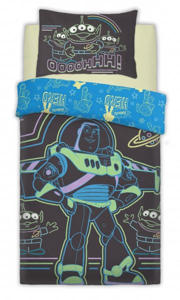 Disney Toy Srory Intergalactic Panel Single Bed Duvet Quilt Cover Set