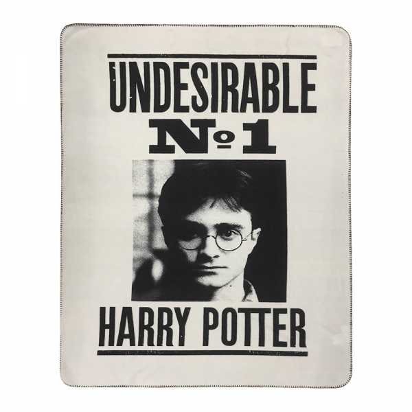 Harry Potter 'Undesirable No. 1' Plush Throw Blanket