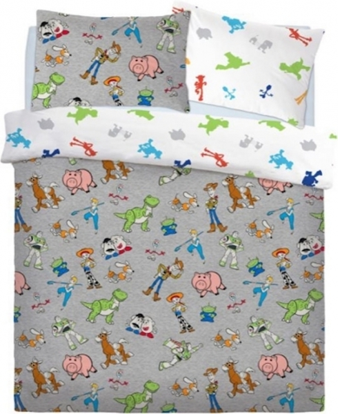 Disney Toy Story Are Back In Town Panel Double Bed Duvet Quilt Cover Set