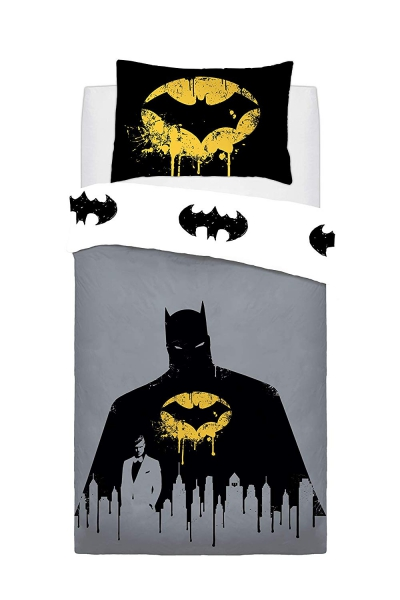 Batman Dark Knight Panel Single Bed Duvet Quilt Cover Set