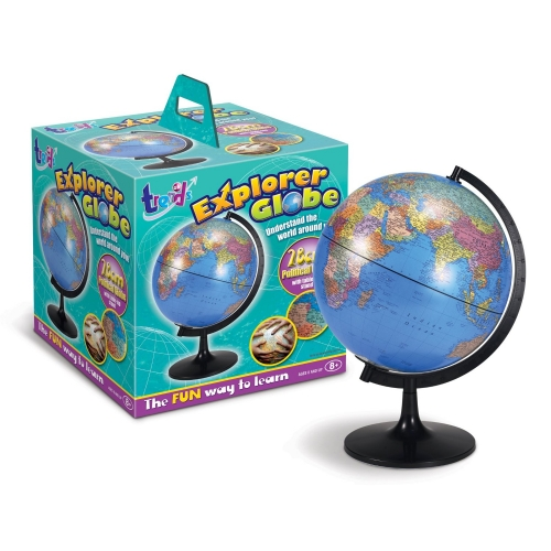 Explorer Globe 11inch Kids Activity