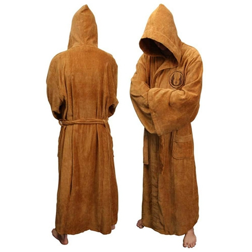Star War 'Jedi' Adult with Hood Large Bathrobe