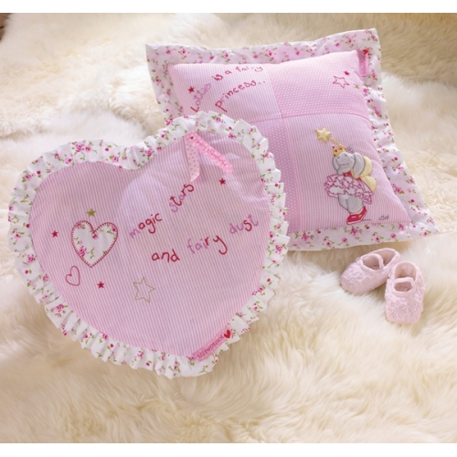 Izziwotnot Lottie Fairy Princess Heart Cushion Plush Soft Toy