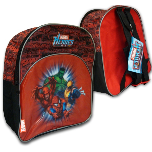 Marvel Heroes Junior School Bag Rucksack Backpack