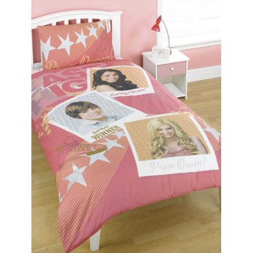 Disney High School Musical Panel Single Bed Duvet Quilt Cover Set
